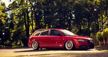 5 llantas para Audi A4 que quedan perfectas.