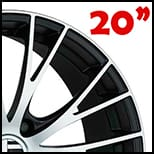 bbs-sv-satin-black-diamond-cut-20-pulgadas